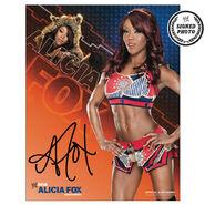 Alicia Fox Signed Photo