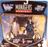 Clarence Mason & Crush (WWF Managers 1)