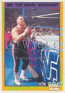 1995 WWF Wrestling Trading Cards (Merlin) Jim Neidhart 160