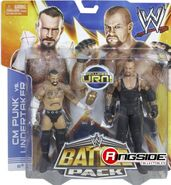 WWE Battle Packs 25 CM Punk & The Undertaker