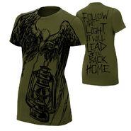 Bray Wyatt Follow The Light Women's Authentic T-Shirt