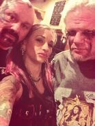 Miss Prig with Perry Saturn and Raven