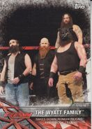 2017 WWE Road to WrestleMania Trading Cards (Topps) The Wyatt Family 8