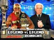 Hulk Hogan vs Ric Flair