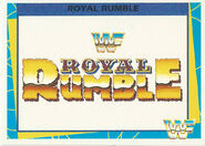 1995 WWF Wrestling Trading Cards (Merlin) Royal Rumble 86