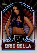 2011 Topps WWE Classic Wrestling Brie Bella 9