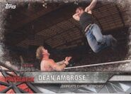2017 WWE Road to WrestleMania Trading Cards (Topps) Dean Ambrose 80