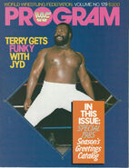 WWF Wrestling Program - Volume 129