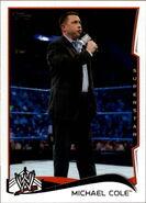 2014 WWE (Topps) MIchael Cole 32
