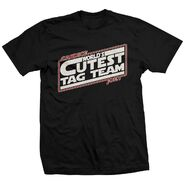 World's Cutest Tag Team May The Cute Be With You Shirt