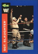 1991 WWF Classic Superstars Cards Sgt. Slaughter 97