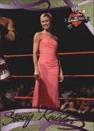 2004 WWE Divas 2005 (Fleer) Stacy Keibler 17
