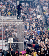 Mankind vs The Undertaker Hell in a Cell Match King of the Ring 1998 13