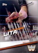 2016 WWE Divas Revolution Wrestling (Topps) Lita 6