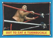 1987 WWF Wrestling Cards (Topps) Out To Eat A Turnbuckle 66