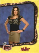 2002 WWE Absolute Divas (Fleer) Nidia 12