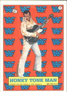 1987 WWF Wrestling Cards (Topps) Sticker Honky Tonk Man 10