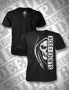 Aces & Eights Side Skull T-Shirt