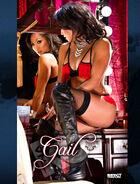 Gail Kim Moulin Rouge Banner