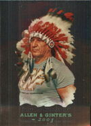 2008 WWE Heritage III Chrome (Topps) (Allen & Ginter) Chief Jay Strongbow 8