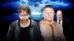 WM 32 Ambrose v Lesnar