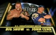 WrestleMania XX john cena vs big show