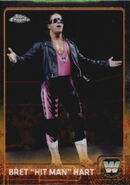 2015 Chrome WWE Wrestling Cards (Topps) Bret Hart 79