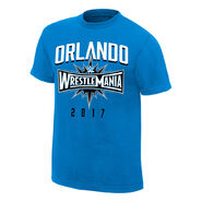 WrestleMania 33 Orlando Blue Youth T-Shirt