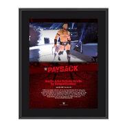 Neville Payback 2017 10 x 13 Commemorative Photo Plaque