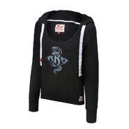 Randy Orton Recoiled Women's Tri-Blend Pullover Hoodie Sweatshirt