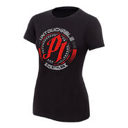 AJ Styles Untouchable Women's Authentic T-Shirt