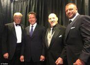 Arnold Schwarzenegger WWE 2013