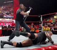 RAW 2-23-09 Triple H-Orton