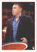 2012 WWE (Topps) Michael Cole 43