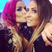 Natalya Kissing Emma