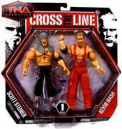 TNA Cross the Line 1 Scott Steiner & Kevin Nash