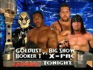 Booker T & Goldust vs Big Show & X-Pac