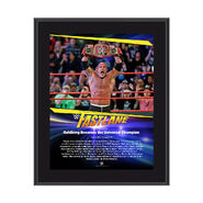 Goldberg FastLane 2017 10 X 13 Commemorative Photo Plaque