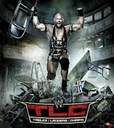 Tables, Ladders & Chairs 2012 Poster