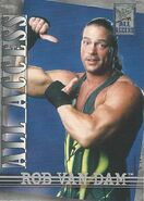2002 WWF All Access (Fleer) Rob Van Dam 25