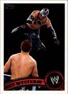 2011 WWE (Topps) Rey Mysterio 3