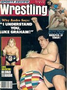 Sports Review Wrestling - September 1978