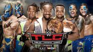 TLC 2015 Triple Threat Tag Team Match