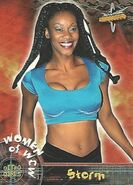 1999 WCW Embossed (Topps) Storm 68