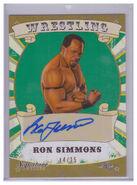 2016 Leaf Signature Series Wrestling Ron Simmons 71