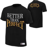 Curtis Axel Better Than Perfect Authentic T-Shirt