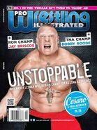Pro Wrestling Illustrated February 2015