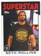 2016 WWE Heritage Wrestling Cards (Topps) Seth Rollins 32