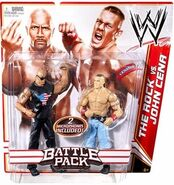 WWE Battle Packs 15 The Rock & John Cena