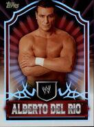 2011 Topps WWE Classic Wrestling Alberto Del Rio 2